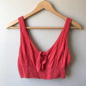 Abercrombie and Fitch Orange Crop Top